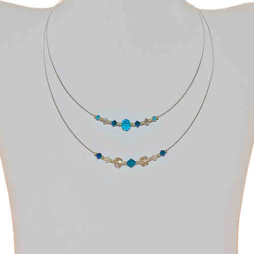 Kinderhalskette Kids Chain, blau