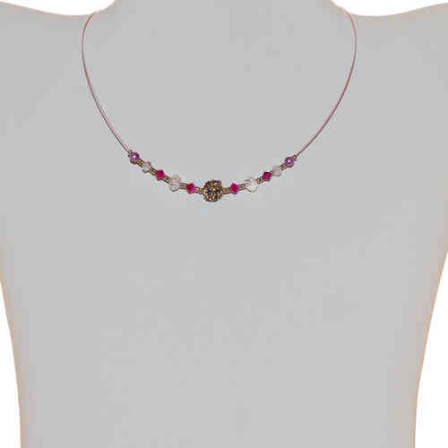 Kinderhalskette Kids Chain, pink